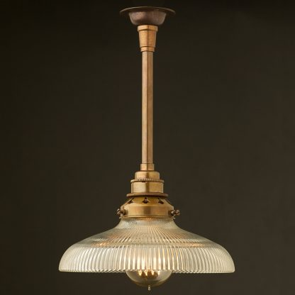 Single Rod Brass lamp pendant