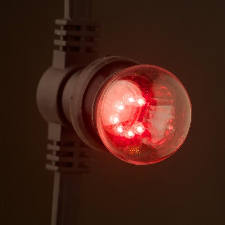 Low Voltage G45 LED Commercial Festoon Kit 25cm intervals