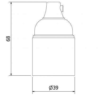 Bakelite Standard Lampholder Edison E27 fitting