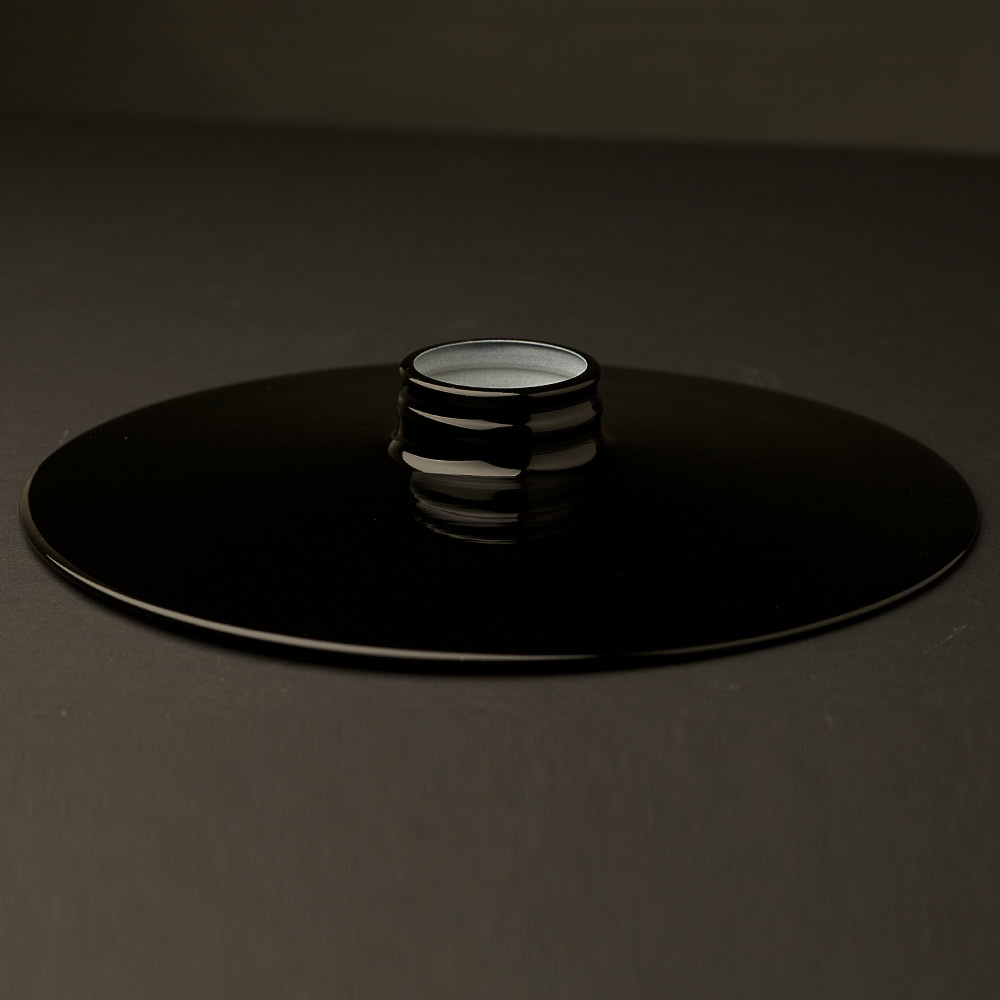 Black 10 inch Flat Light Shade