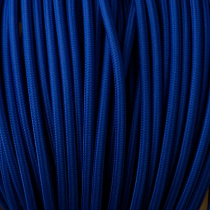 Blue pulley cable