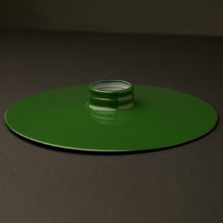 Green 10 inch Flat Light Shade