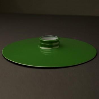 Green-10-inch-enamelled-flat-shade