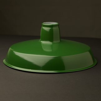 Green Enamel Factory Shade 300mm
