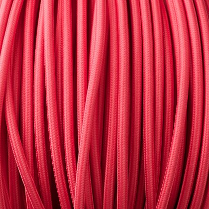 Hot Pink pulley cable