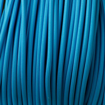 Light blue pulley cable