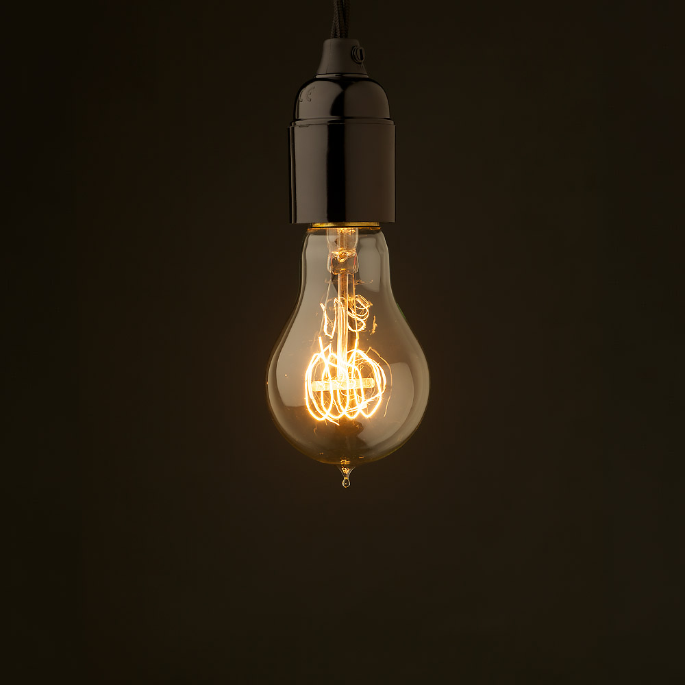 Edison Style Light Bulb Standard Bakelite Fitting