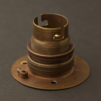 Brass-B22-batten-holder
