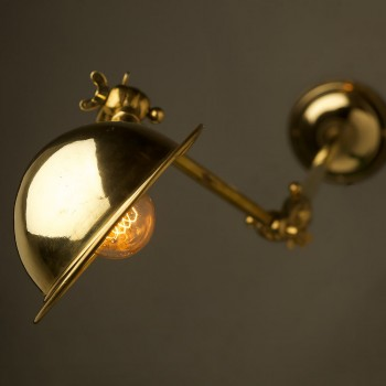 Complete-Adjustable-brass-wall-lamp-and-angled-shade