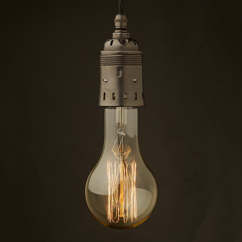 Hanging Light Bulb Fittings: Edison Style Light Bulb And E40 Bronze Fitting