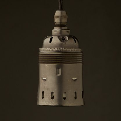 Heavy Bronze Brass Lampholder Edison E40 fitting