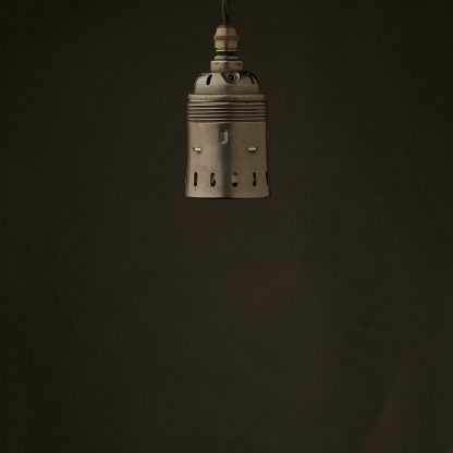 Edison style light bulb E40 Bronze pendant