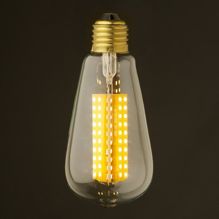 6 watt dimmable led e27 clear edison bulb. Black Bedroom Furniture Sets. Home Design Ideas