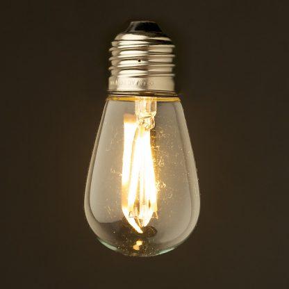 2 Watt Dimmable Filament LED E27 Mini Edison bulb
