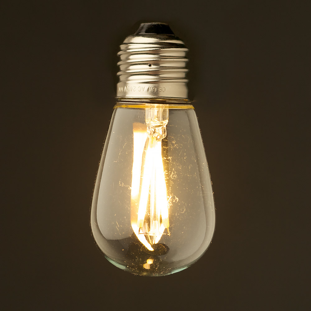 2 watt dimmable filament led e27 mini edison bulb Bulbs led