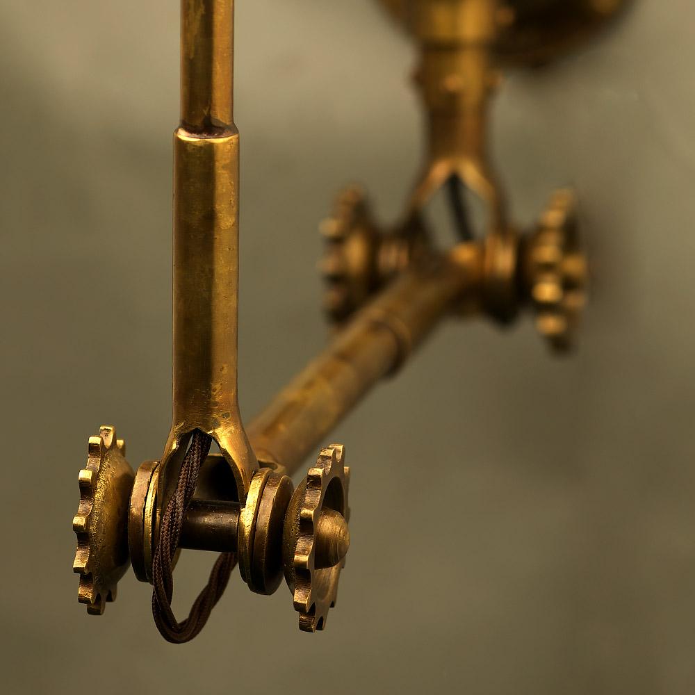 Adjustable Brass Wall Lamp Shade Edison Light Globes Pty Ltd