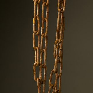 Industrial Lighting Chain Heavy Link Antiqued