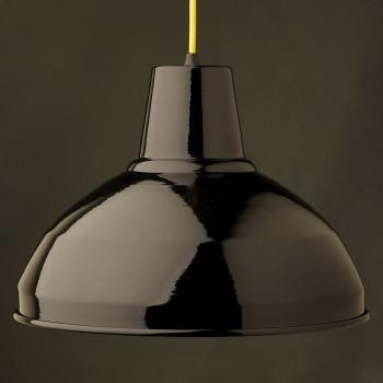 Black-Factory-shade-bakelite-E27
