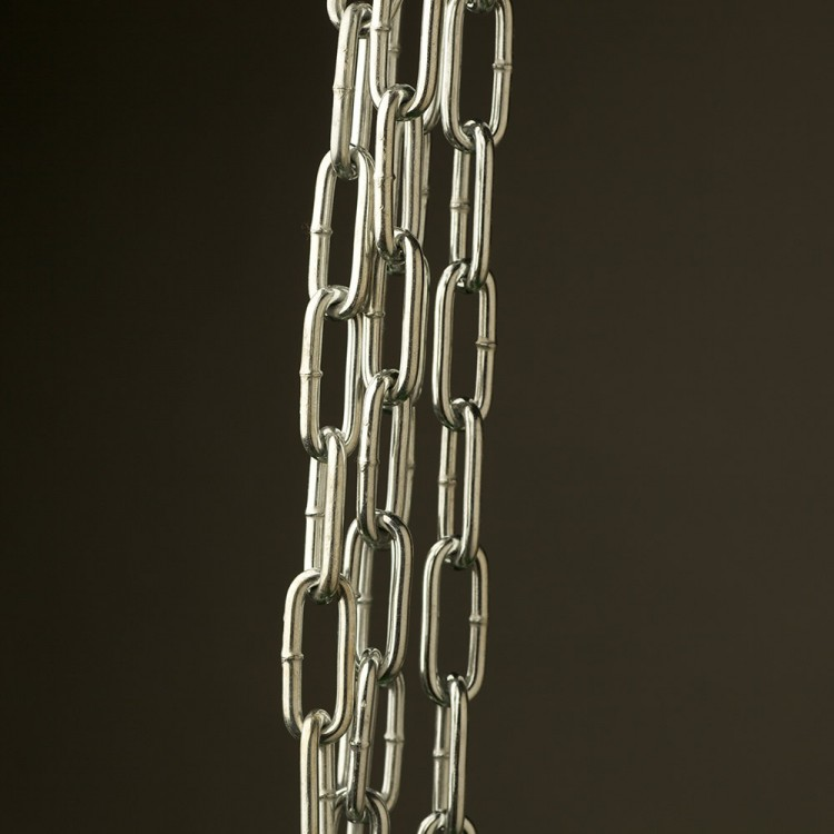 Industrial Lighting Chain Heavy Link Zinc Plated