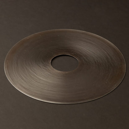 180mm Antiqued steel disc light shade