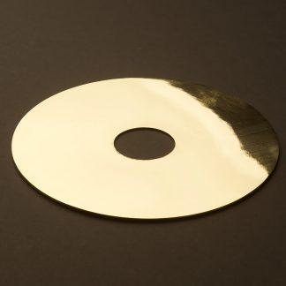 180mm New Brass disc light shade