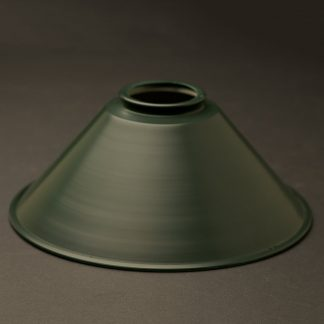 Antiqued Green 8 inch coolie light shade