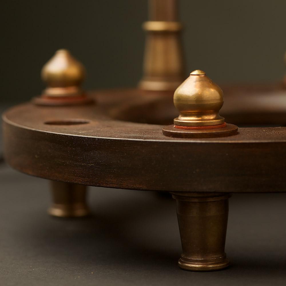 bulb adjustable hub lamp base. Black Bedroom Furniture Sets. Home Design Ideas
