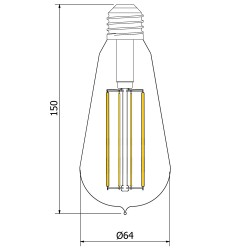 Globe-Teardrop-Lantern-Filament-LED-ST64