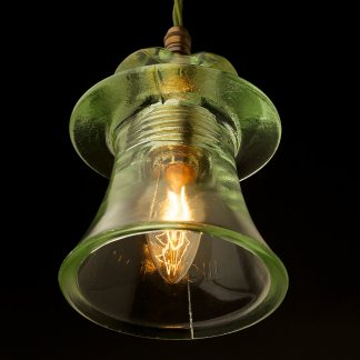 Russian Fluted Insulator E14 pendant