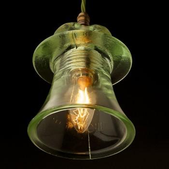 Russian Fluted Insulator E14 pendant