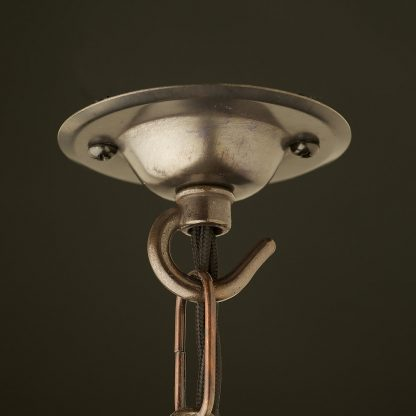 75mm Bronze Chain hook ceiling rose