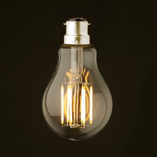 5 Watt Dimmable Lantern Filament LED B22 Clear GLS