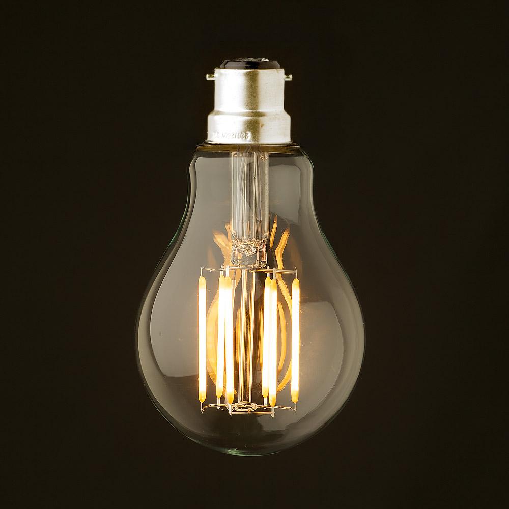 5 watt dimmable lantern filament led b22 clear gls. Black Bedroom Furniture Sets. Home Design Ideas