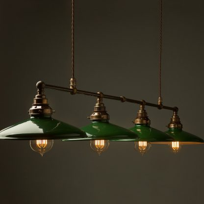 Vintage Edison Long Billiard Table Pendant