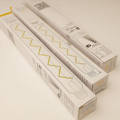 5 Watt Dimmable LED E27 Zig Zag Tube Bulb 290mm