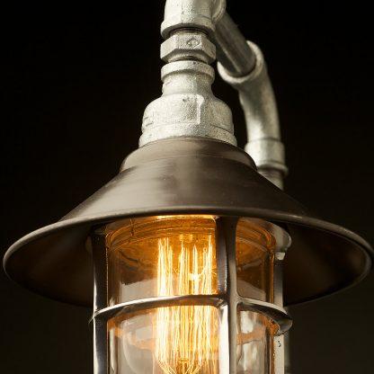 Outdoor Plumbing Pipe Wall Shade Lamp detail