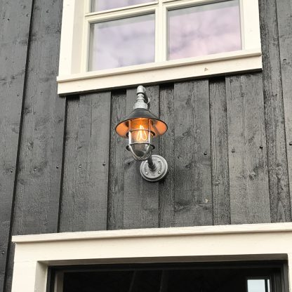 Outdoor Plumbing Pipe Light Iceland