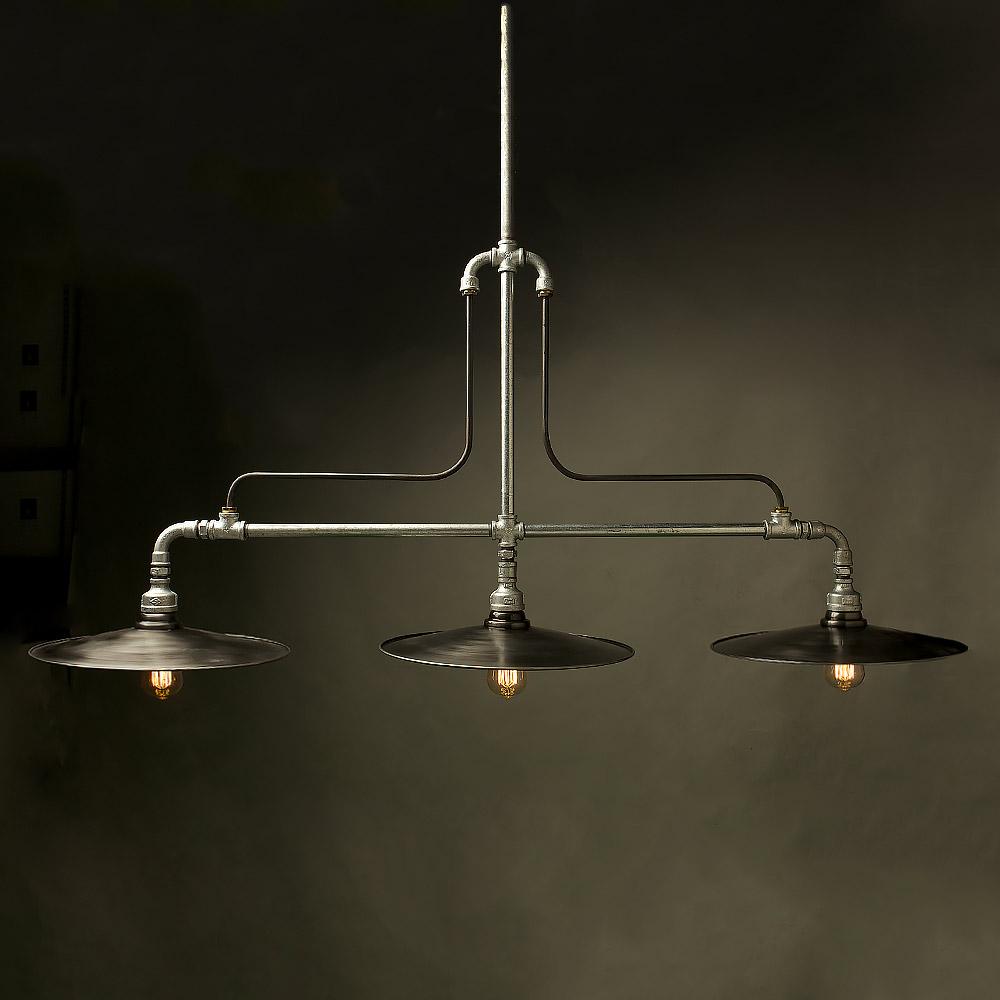 Steel pipe light fixture lighting designs plumbing pipe conservatory light arubaitofo Images