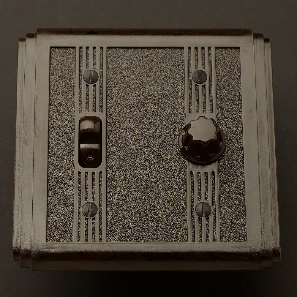 Bakelite Art Deco Switch And Universal Dimmer