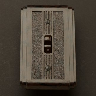 Bakelite Art Deco single switch
