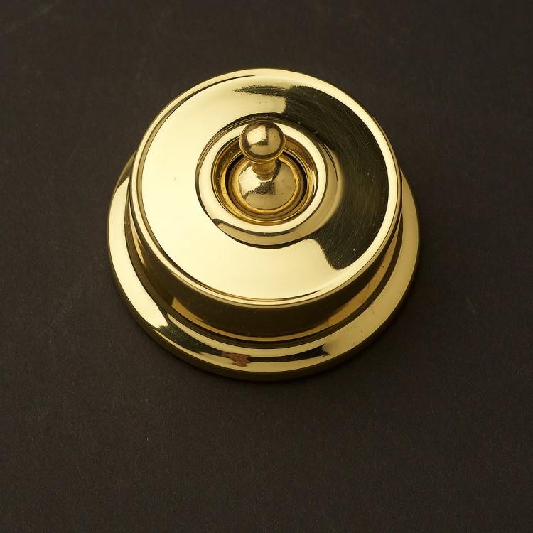 Federation Brass single light switch