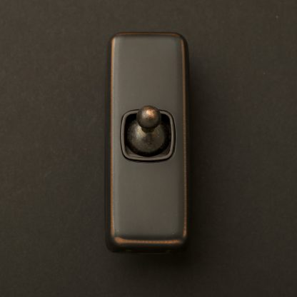 Traditional Antique Copper single rocker switch