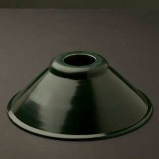 Dark green light shade 190mm