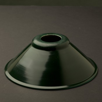 Dark-green-steel-200mm-shade