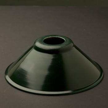 Dark-green-steel-200mm-shade