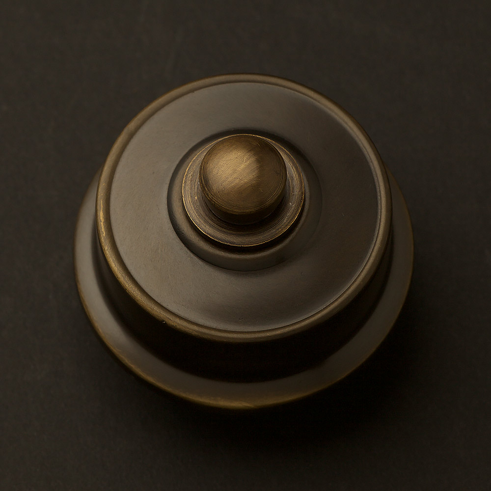 Federation Antique brass Dimmer