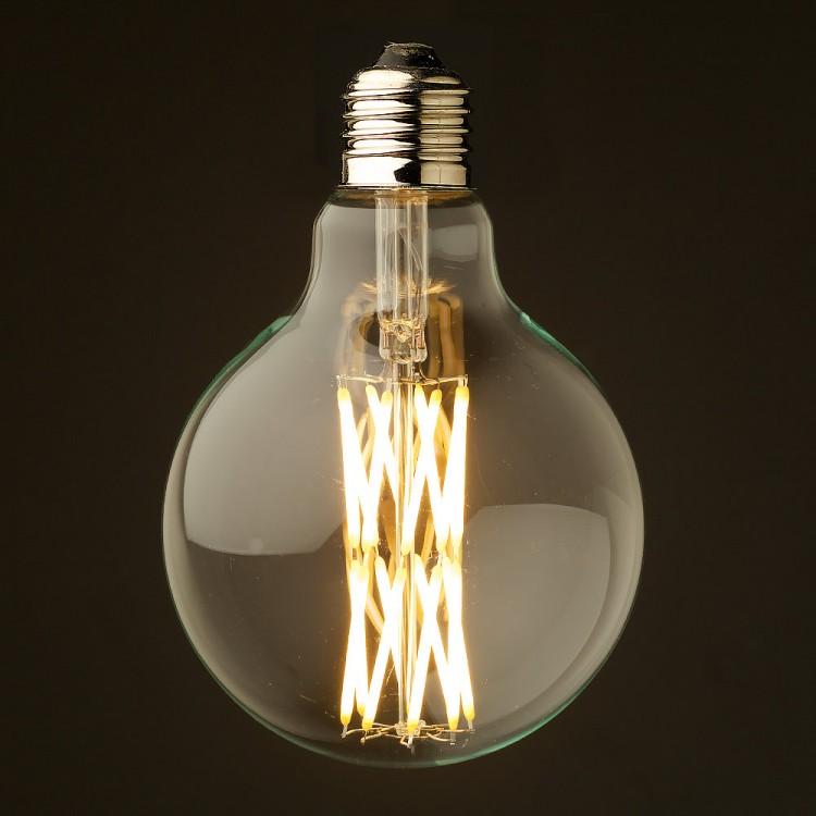 10 watt dimmable filament led e27 clear 95mm. Black Bedroom Furniture Sets. Home Design Ideas