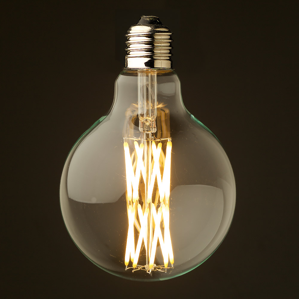 10 Watt Dimmable Filament LED E27 Clear 95mm