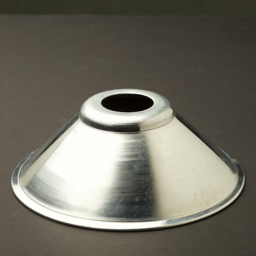 Galvanised steel light shade 12mm