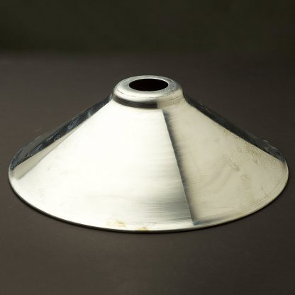 Galvanised steel light shade 310mm